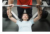 Strength Training at Quest Gym